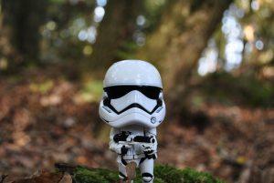 Stormtrooper in the woods