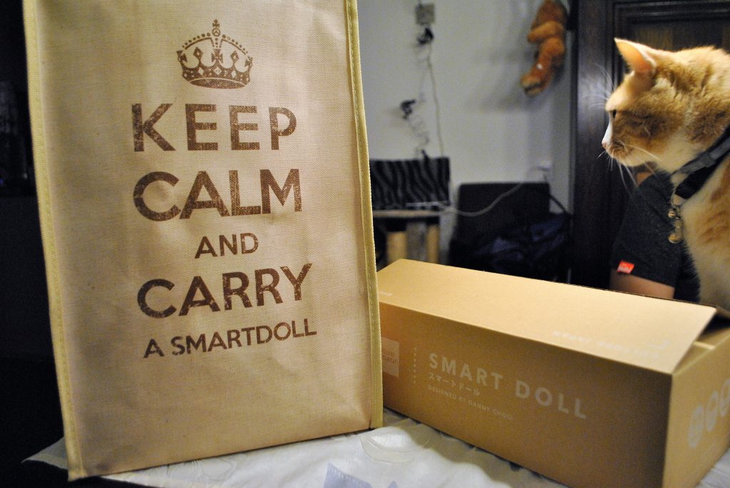 unboxing Smart Doll Cherry